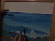 ¡ NUEVO! gratis video onda lección de un paisaje de mar 1 - YouTube