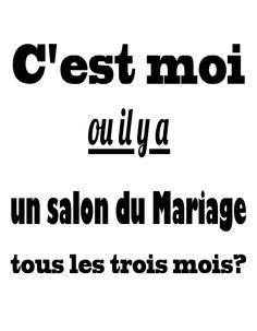 humour mariage salon