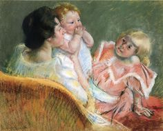 Mary Cassatt: Mother and Children