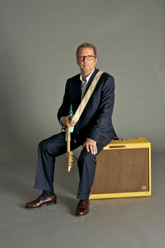 Eric Clapton and the EC Twinolux Amp (Photography by George Chin)