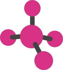 Molecule by A molecule, schematic. Science Party, Science Fair, Science Projects, Fun Games, Back To School, Scrap, Clip Art, Number 7, Lucky Number