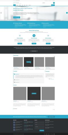 Local Theme - Free PSD Template