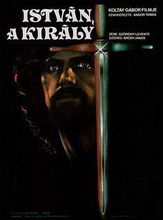 László Pelsöczy in István, a király (1984) Movies, Movie Posters, Fictional Characters, Films, Film Poster, Cinema, Movie, Film, Fantasy Characters