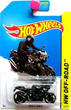 BMW K 1300 R Motorcycle Hot Wheels 2014 Off Road #127/250 Black