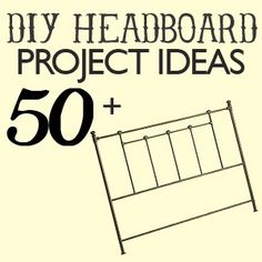 Over 50 Amazing Headboard DIY Projects! - Click image to find more DIY & Crafts Pinterest pins