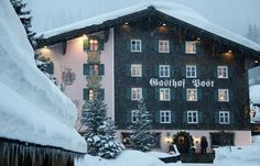 The Hotel Gasthof Post, Lech is an exclusive five-star property in the world-renowned ski resort of Lech, Austria. Top Ski, Most Luxurious Hotels, Ski Vacation, Best Spa, Austria, Skiing, Photo Wall, Poster, Europe