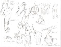 Hands sketches by JoeyVazquez