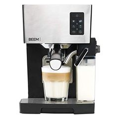 BEEM Germany Espresso & Cappuccino Maker Machine with Automatic Milktank for or Tassimo Coffee, Cappuccino Maker, Coffee Maker, Barista, Machine Expresso, Milk, Germany, Coffee Machines
