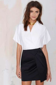 Cameo Blessed Pencil Skirt - Skirts