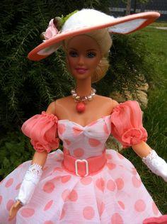 Puppenkleidung - Barbiekleid Frühling - ein Designerstück von kreativer-Hadasch bei DaWanda