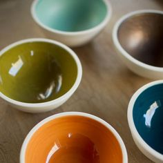 Luminology soy candles ~ you're left with a pretty bowl after burning