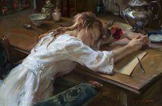 Artist: Daniel F. Gerhartz - Title: With Love