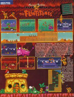 The Flintstones (Sega Genesis) - http://megalextoria.blogspot.com/2017/01/the-flintstones-sega-genesis.html