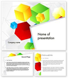 Powerpoint Free, Red Bricks, Graphic Organizers, Presentation Templates, Cubes, Homework, Backgrounds, Colorful, Teaching