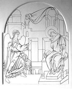 Byzantine Icons, Byzantine Art, Greek Icons, Church Icon, Paint Icon, Orthodox Icons, Painting Process, Sacred Art, Christian Art