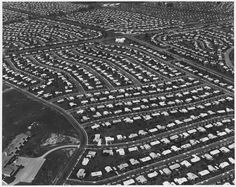 October The Levittown suburban housing development saw its first resident moved in on 1 October Did you grow up in the suburbs after your parents or grandparents moved out of a big city? Family Tree Builder, Stanley Donwood, Bill Owen, Jim Crow, Us History, History Articles, Canadian History, Design History, American History