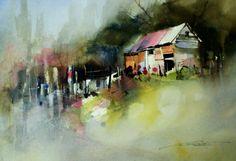 John Lovett #watercolor jd