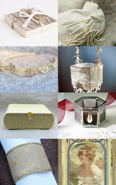 WHITE WEDDING by Holly Bean on Etsy--Pinned with TreasuryPin.com