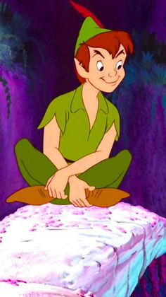 30 Day Disney Challenge, Day 1 - Favorite Character: Peter Pan (tied with Tinkerbell)