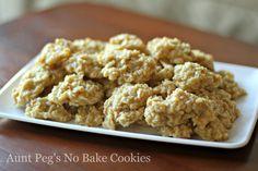 Vanilla Oatmeal No-Bake Cookies - So deviously good. =) Super easy to make.