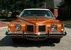 1973 Pontiac Grand Prix J Luxury Sport coupe