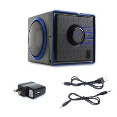 Rechargeable Portable Stereo Speaker System