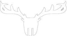 Głowa jelenia 3d. InteriorsPL.com