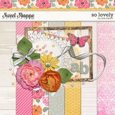 So Lovely - Sweet Shoppe (Zoe Pearn) - has ruled writing paper (also honeycomb paper)