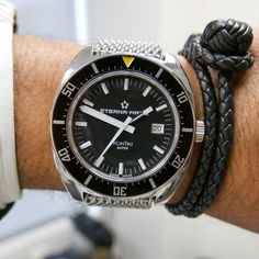 "Our latest watch review is a story describing a watch very dear to us and a prize we collected after our BaselWorld ""War"" of 2016. Eterna Heritage Super KonTiki 1973 Limited Edition ""The War of Baselworld 2016"". All amusing details in our latest review..."
