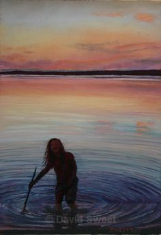 Sunset Lough Melvin, Leitrim - Paintings Rest, Pastel, Paintings, Play, Sunset, Children, Sunsets, Young Children, Pie