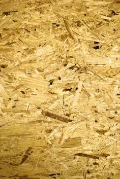 Chipboard, also known as particle board, is typically used as subflooring or in areas that are hidden from view. It's surface does not look like hardwood, or any woodgrain at all, for that ...