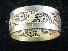 Another antique Victorian ring for men.