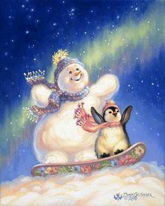 Новогодне - рождественское от Dona Gelsinger.