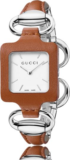 bee3d4f19ba67 Gucci Women s Gucci 1921 Camel Leather Bangle and Case Watch Gucci Watch
