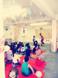 Celebrating Children's day at Tip Toey Joey's factory in Franca!