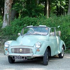 "♕ '61 Morris Minor Convertible. Benevilla caters to all - from toddlers to ""vintage"" folk! #Benevilla #vintage More More"