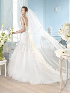 Vestido de novia, modelo Hanrietta de St. Patrick 2014  www.sanpatrickgranada.es