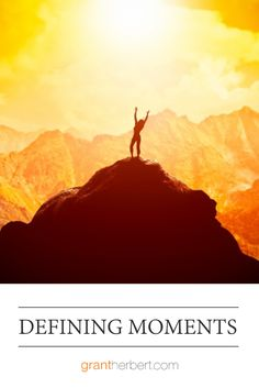 When conscious decisions are made to create defining moments, the action follows to make it become reality. #emotionalintelligence