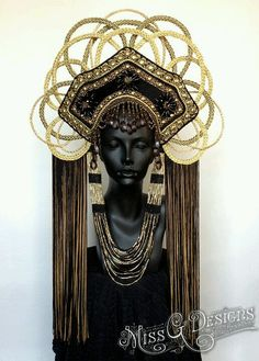 Art Decoesque Headdress