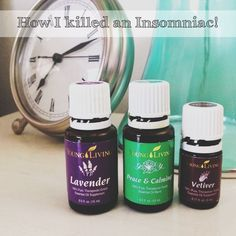 I *used* to be an insomniac, but once I found this combination of Young Living oils, I began sleeping through the night for the first time in years! My problem was not that I couldn't fall asleep, it was that I couldn't stay asleep. #growinguplow #youngliving #essentialoils
