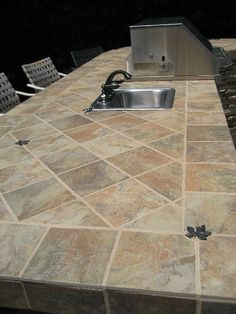 Outdoor kitchen and BBQ in Yorba Linda, Ca.