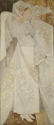 Natalie Goncharova, Spanish Dancer (1916)