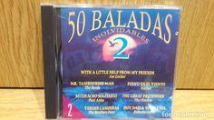 50 BALADAS INOLVIDABLES 2 / Nº 2. CD / DIVUCSA - 1992.  16 TEMAS / CALIDAD LUJO.