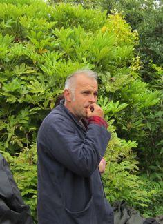Dixter. Head gardener Fergus Garrett