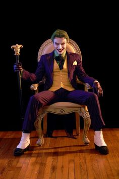The Joker - Anthony Misiano. This guy's makeup melts my face.