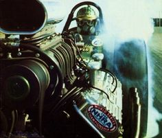 old school with the possibility of getting engine parts shot in your face