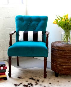 Upholstering is easier when you know some tricks of the trade.