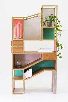 shelving system / room divider by Raul de la Cerda | Miss Moss