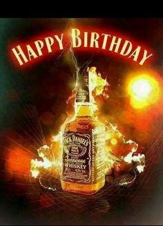 Ol no 7 Jack Daniels! Happy Birthday Jack Daniels, Happy Birthday Whiskey, Happy Birthday Meme, Happy Birthday Candles, Happy Birthday Messages, Happy Birthday Images, Happy Birthday Greetings, Man Birthday, Birthday Wishes