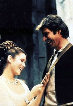 Han Solo and Princess Leia -Star Wars